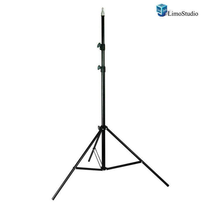 Light Stand Tripod Die-cast Metalic Material, 1/4 inch Thread Tip Screw, Rubber Feet, Easy Carry Case Bag, Solid Locking, Max 92 inch Height, Photo Studio, AGG1483V2