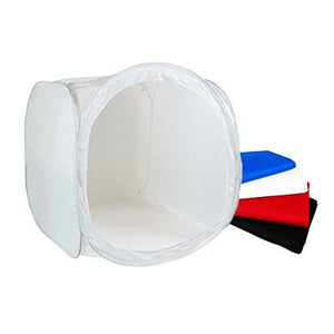 "24"" x 24"" Table Top Photography Studio Light Tent with 4 Color Backdrops, AGG1499"