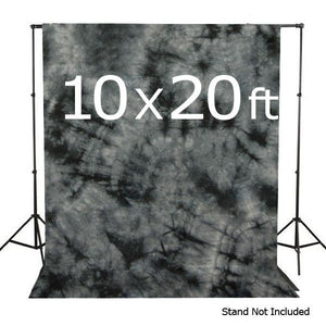 10 X 20 Ft Photo Studio Hand Dyed Fantasy Gray Muslin Backdrop Backgrounds, AGG149