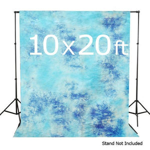 10 X 20 Ft Photo Studio Hand Dyed Sky Blue Muslin Backdrop Backgrounds, AGG150