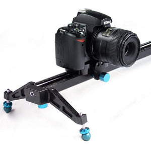 40Inch Video Stabilization System DSLR Camera Compact Dolly Track Slider, AGG1567