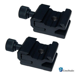 2Pcs Hot Shoe Flash to Bracket/ stand Mount Adapter Trigger, AGG1623