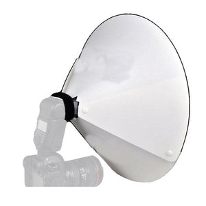 "Photo Video Studio Universal 23"" Beauty Dish/Reflector for External Speedlites, AGG1640"