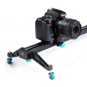 Photography Studio Blue 24 inch Video Stabilization System DSLR Camera Dolly Track Motion Slider, AGG1663
