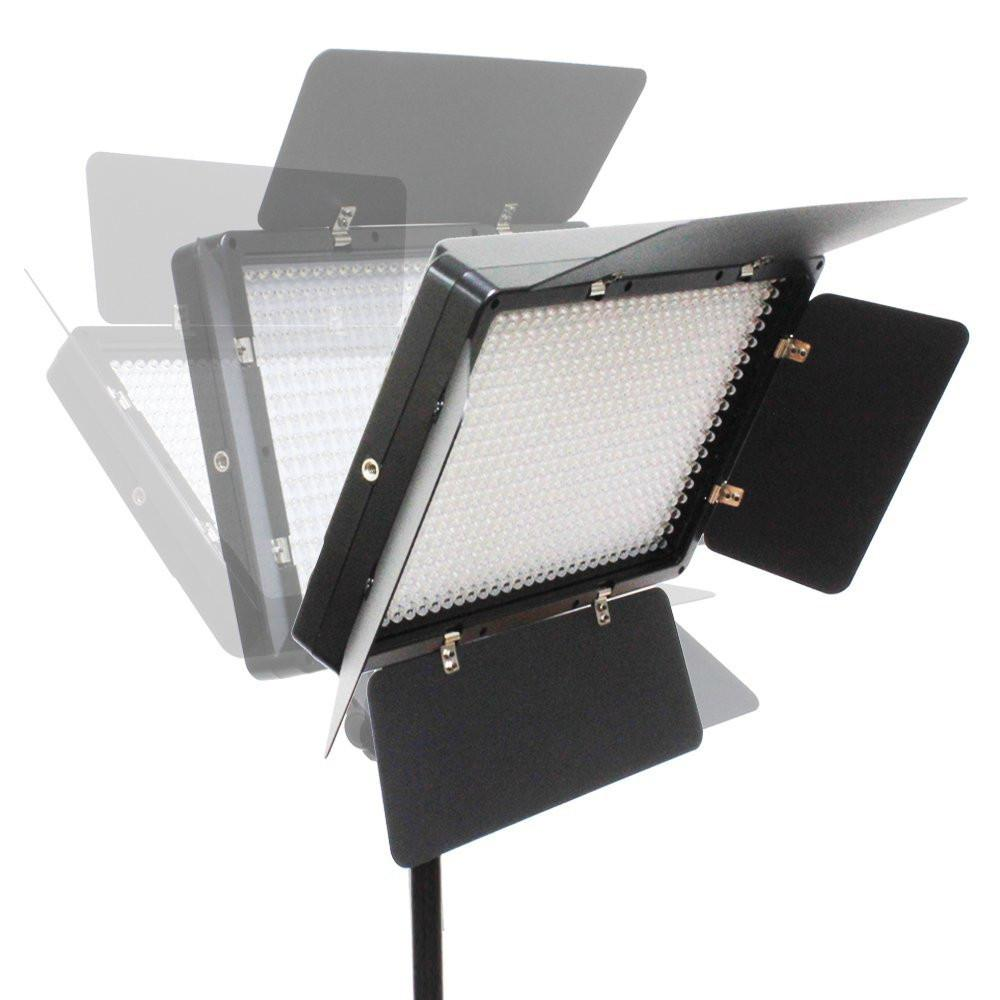 AGG2625 5600K Color Temperature Control Selectable Lighting Zone Control White Diffuser Filter LimoStudio 210 Bi-Color LED Dimmable Barn Door Lighting Panel for Photo Video with 3200K