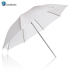 "53"" wide Photography Studio White Umbrella Photo Video Umbrella Reflector, AGG1723"