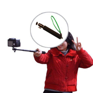 "Photography Digital Camera Extender Self Portrait Handheld Monopod (extends up to 21""), AGG1734"