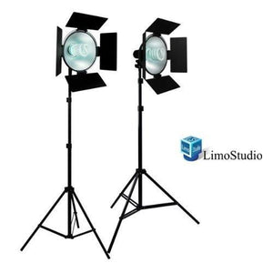 600W Photography Studio Light Barndoor Continuous Lighting Kit, AGG1767