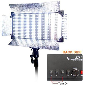 Photo Video Studio Lighting 500 LED Video Panel 500 Ultra Bright, AGG1768