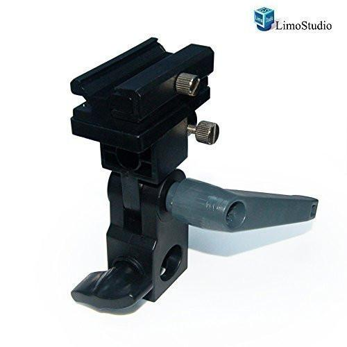 Photo Video Photography Studio Flash Hot Shoe Mount Adapter Trigger Umbrella Holder Swivel Light Stand Bracket, AGG1772