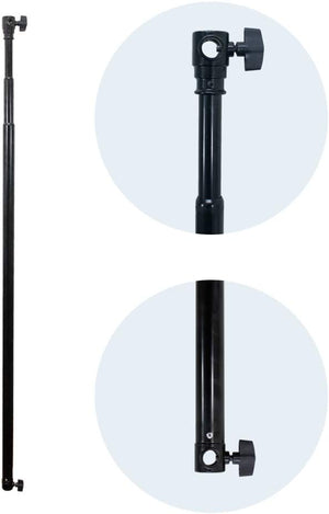 LimoStudio 10 ft Telescopic Background Support Crossbar for Photo Video Studio, SRE1149