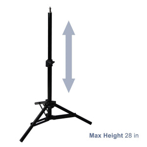 Foldable Studio Lighting Photo Shooting Table, Digital Photo Portable Ecommerce Business Shooting Table, White Background, AGG1823