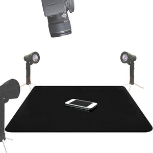 "LimoStudio 24"" x 24"" Black & White Acrylic Reflective Table Top Display Background Boards for Photography Shooting, AGG1826"