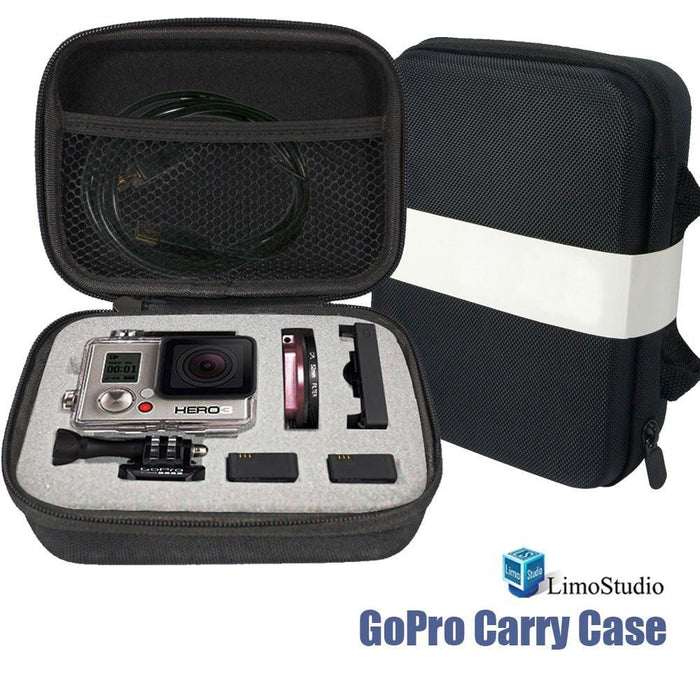 GoPro Hard Carry Case Box Bag, Water Proof, Shock Proof, Photo Studio, AGG1828