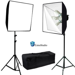 2000W Digital Photography Studio Softbox Lighting Kit Photo Softbox Kit, Light Stand, Light Bulb, Bulb Socket & Carrying Case, AGG1833