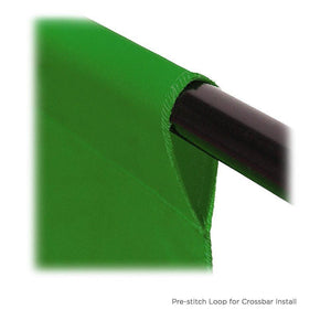 9 x 13ft Green Fabricated Chromakey Backdrop Background Screen for Photo / Video Photography Studio, AGG1846