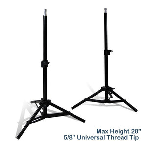 2 Sets of 18W LED Table Top Continuous Lighting Kit with Light Stand Tripod & Photo Shooting Soft Box Tent, Photo Studio, AGG1848