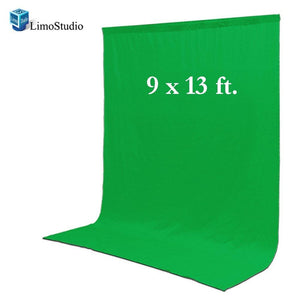 Photo Video Photography Studio 9x13ft Green Fabricated Chromakey Backdrop Background Screen, AGG1855