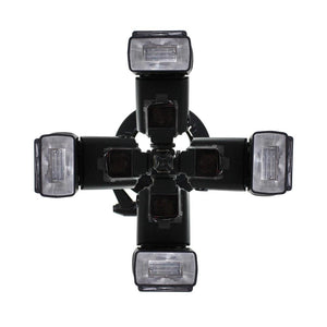 4 Universal Speedlite Flash Hotshoe Mount Adapter Bracket, Photo Studio, AGG1912