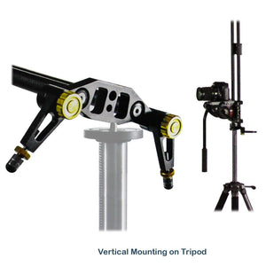 47-inch DSLR Camera Slider Dolly Track, Video Stabilizer, Carbon Fiber Rail System, High Precision Smooth Bearing Slide with Standard Mount and Spirit Level, Photo Studio, AGG1982