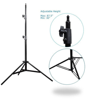 26 - 48 inch Swivel Head Reflector Arm Support Holder with Photo Light Stand Tripod, Easy Spring Clip Install, Mount on the Light Stand Tripod, Photo Studio, AGG2057V2