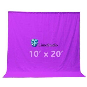 Photography backdrop 10 x 20 Ft Purple Muslin photography studio video background, AGG206