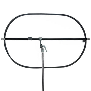 Swivel Head Reflector Holder Support Structure System, Boom Stand, Reflector Holding Arm Bar, 48 Inch Max Hold Length, Studio Lighting Kit, Photography Video Studio, AGG2075