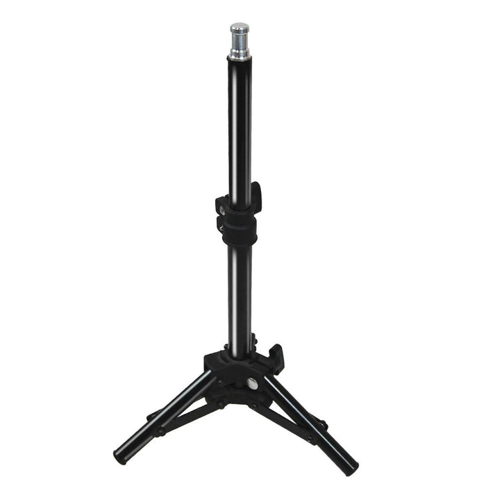 Used Business Product Photo Shooting Table Stand Kit, 5500K Continuous Light, White Background, Height Angle Adjustable Table Top Light Box, Photography Studio, AGG2119V2