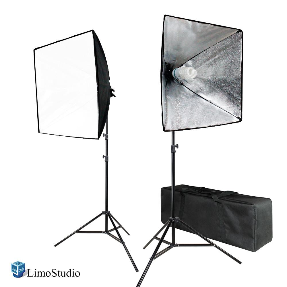 700W Photo Softbox Lighting Kit Studio Light Diffuser Reflector 24 x 24 Inch Photo Equipment Carry Bag Photography Studio AGG2138  sc 1 st  Limostudio & 700W Photo Softbox Lighting Kit Studio Light Diffuser Reflector 24 ...