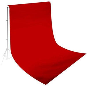 10' x 20' Photography Studio Background Red Color Solid Muslin Photo Backdrop Seamless 100% Cotton Background, AGG214