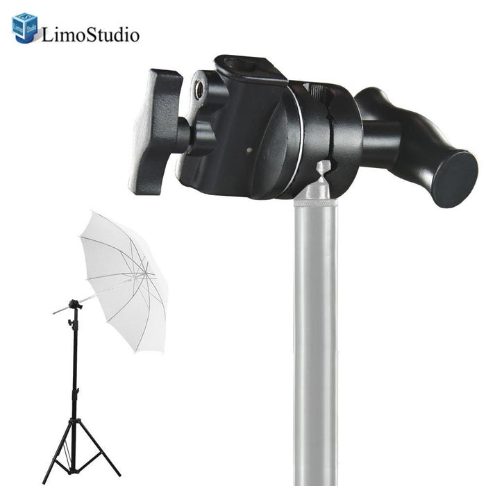 2.5 Inch Diameter Grip Head Black 1/2, 1/4, 3/8, 5/8 Inch Mount, Compatible with Super Clamp, Extension Grip Arm, C Stand with Turtle Base, Reflector Disc, Photo Studio, AGG2150