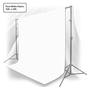 Photo Muslin Photography Backdrop Background 10 X 12 Ft Screen White Muslin Backdrop, AGG219