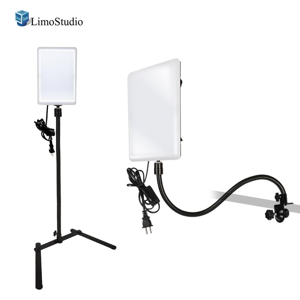 2 pack led light panel with gooseneck extionsion adapter mini