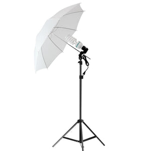 46 Inch [2 PCS] White Umbrella Reflector, Light Diffuser, Translucent Soft Even Spread Light for Photo Studio, Photography Studio, AGG2278