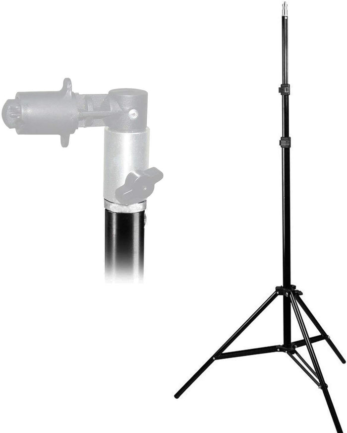 "LimoStudio 86"" Photo Video Studio Aluminum Adjustable Light Stand Heavy Duty Tripod, SRE1156"