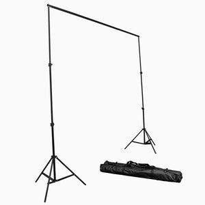 Photography Studio 600W Photography Studio Continuous Lighting Kit with 10' x 10' Green Chromakey Muslin Backdrop Support Studio Kit, Photo Umbrella Lighting Kit, AGG234