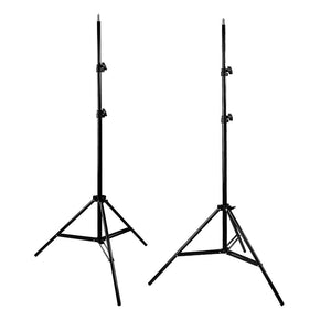800-840W Photography Studio Continuous Light, Photo Umbrella Lighting Kit + 10 x 10 ft. Green Chromakey Muslin Backdrop, Photo Studio Background Support Stand, AGG238