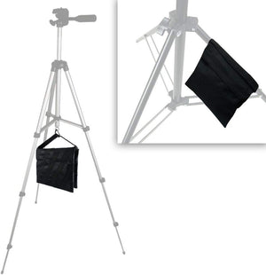 LimoStudio Black Heavy Duty Photographic Studio Video Sand Bag, Counter Weight Bag for Universal Light Stand for Boom Stand and Tripod, SRE1144