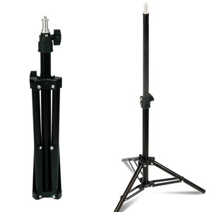 Limostudio 2 Set of LED Photo Studio Table Top Photo Studio Lighting Kit with 50W Energy Saving Light Bulb and Mini Light Stand Tripod, SRE1200