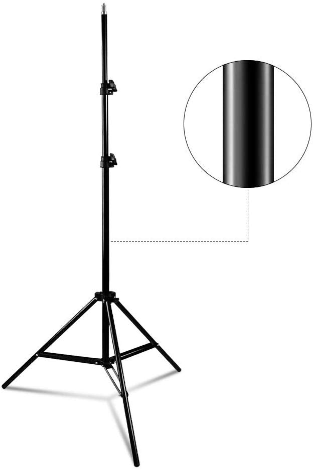 Limo Studio Photo Video Studio 86.5inch Light Stand Aluminum 3Legs Tight Locking System Light Stand for Photography Studio, SRE1177
