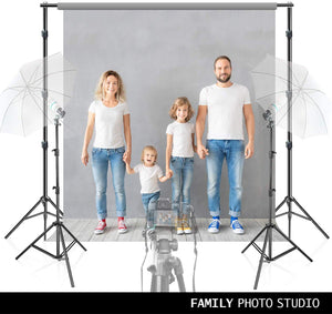 LimoStudio 10 ft. Wide Adjustable Muslin Background Backdrop Support System, Backdrop Stands with 2 Light Stands, Perfect for Muslin Scenic Backdrops and Chromakey Effect, SRE1153