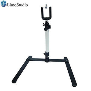 "LimoStudio 17"" Mini Tripod Table Top Travel Camera Camcorder Travel Tripod For Digital Cameras & Camcorders, AGG301V2"