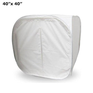 40 inch Photography Table Top Soft Box Light Tent Cube - 4 Chroma Key Backdrops, AGG317