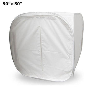 50 inch Table Top Photo Soft Box Light Tent Cube - 4 Chroma Key Backdrops, AGG318