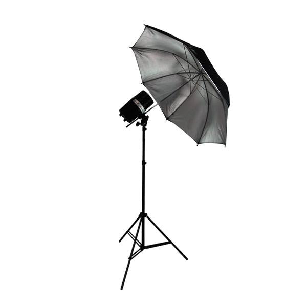 Photography Flash Strobe Monolight Light Lighting Kit Single 200 Watt Flash - Photography Light Stand & Photo Reflective Umbrella, AGG335V2