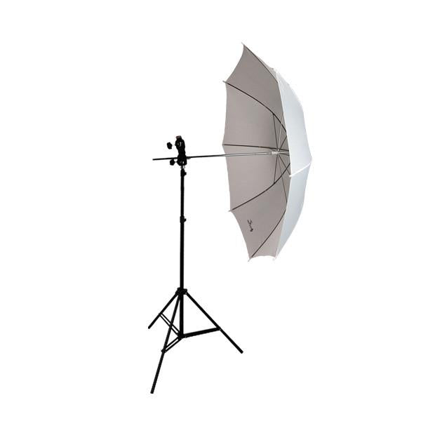 "Photo Studio Flash Mount Umbrella Light Kit 33"" Collapsible Umbrella Reflector Flash Kit, AGG339"