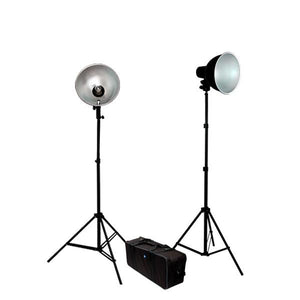 500 Watt Premium Photo Studio Reflector Umbrella Lighting Kit, AGG345