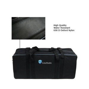 Photography Studio Softbox Set Light Lighting Kit Heavy Duty Convenient Carry Case, AGG354