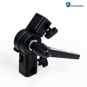 Photography Light Stand Holder, Photography Studio Holder, with Umbrella Shoe Mount Clamp, AGG371