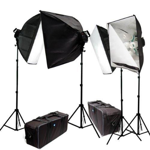 4000 Watt Digital Photography Photo Video Continuous Lighting Light Kit with Carrying Case - 4 light stands 4 softboxes 4 Light Heads w/5 bulbs ...  sc 1 st  Limostudio & 4000 Watt Digital Photography Photo Video Continuous Lighting Light ...